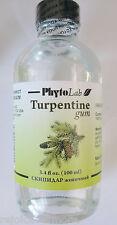 Turpentine Gum Therapeutic Grade  100 ml / 3.4 oz  -- # 1   Parasite Cleanse
