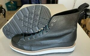 Converse Chuck Taylor All Star Crafted Hi Black Light Fawn Boots Men's Size 12