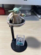 Grogu Baby Yoda Black Series Star Wars Mandalorian Figure w/ Custom Pod Loose