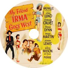 My Friend Irma Goes West - John Lund Marie Wilson Dean Martin J Lewis  V rare