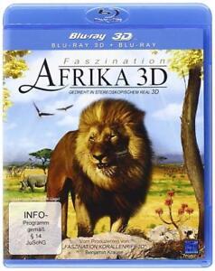 Blu-Ray - Faszination Africa 3D - Nuovo/Originale