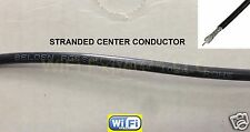 30 feet of Belden RG58AU 50oHm RF Coax Coaxial  cable only NO CONNECTORS USA