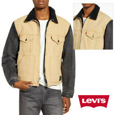 Levis мужские гибрид джинсовая куртка дальнобойщика шерпа накладкой X Justin Timberlake 86184