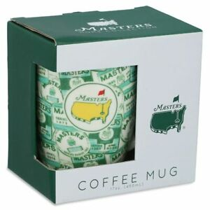 2021 Masters Augusta National Golf Club Badge Coffee Mug, New 2021 Design Cup