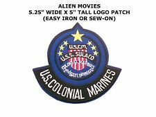 Aliens U.S.S. Sulacco Colonial Marines with Rocker Embroidered Patch 15.25cm