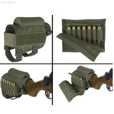 Left Hand Draw Rifle Shell Buttstock Pouch Shooting .308 .403 Bullets Holder Bag Holsters, Belts & Pouches Ammunition Belts & Bandoliers