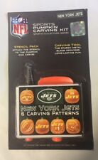 New York Jets Pumpkin Carving Kit Halloween Stencils for Jack-O-Lantern
