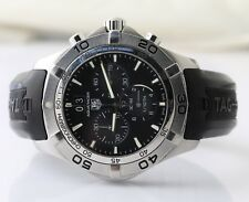TAG Heuer Aquaracer Grande Date CAF101E Stainless Steel Wristwatch