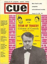 """ORSON WELLES Mercury Theatre's """"KING LEAR"""" Marc Blitzstein 1956 """"CUE"""" Magazine"""