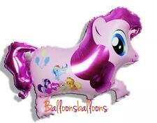"My little pony 36"" helium foil balloon birthday party twighlight sparkle rainbow"