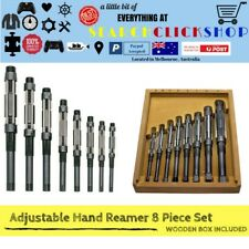 Reamers ADJUSTABLE HAND REAMER SET of 8 Reamers  H4-H11 AU Seller Free Post