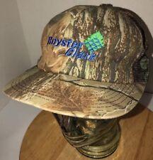 Vintage ROYSTER CLARK 80s USA K-Products Camo Trucker Hat Cap Snapback REALTREE