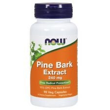 NOW Foods Pine Bark Extract 240 mg - 90 capsules Free Radical Protection