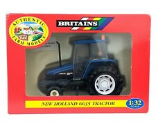 Britains New Holland 6635 Tractor 2WD Modified by S. D. Frater 1:32 BOXED