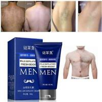 60 ml Hair Removal Cream Depilatory Paste For Body Leg Pubic For Men Armpit Y1M9