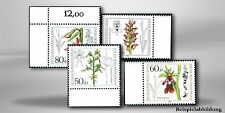 Postfrische Briefmarken aus Berlin (1980-1990) mit Blumen-Motiv