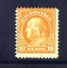 US Stamps - #416 - MH HR - 10 cent Franklin Issue - CV $37