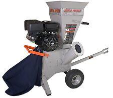 """Brush Master 420cc 4"""" diameter feed Commercial Duty Chipper Shredder - CH4M17"""