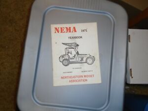 Northeastern Midget Association NEMA 1971 Annual Record and Pictorial Review