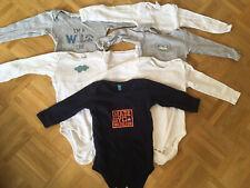 Baby Langarm Bodies Kleinkind Body Set 6 Teile Gr. 86/92