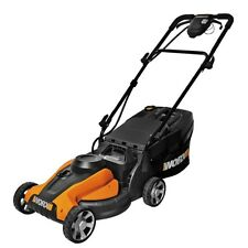 "WG782 WORX 14"" 24-Volt Cordless Lawn Mower with IntelliCut"
