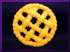 "3"" Wax Pie Crust, Woven Crust w/tin, Set of 3 crusts"