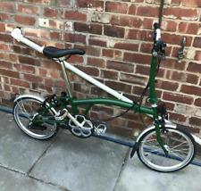 Brompton Folding Bike M6L Racing green 2019, Hardly Used.