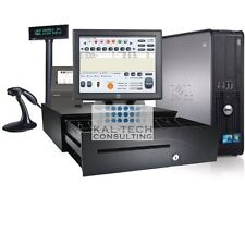 Retail Convenience Store POS Complete System with Retail Maid Software - I3 CPU