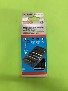 Bosch Magnetic Bit Holder And Bit Set