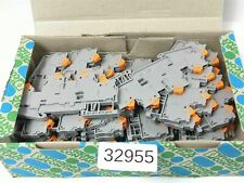 28 Éléments Phoenix Contact Qttcb 1,5 3205116 Borne de Passage Gris
