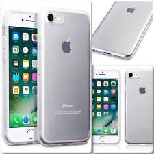 Original Apple iPhone 7 Estuche Cubierta Original Rock Tech 2 Flex TPU Gel parachoques claro