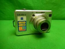 Sony Cyber-shot DSC-W100 8.1MP Digital Camera - Silver w/ Battery and Charger