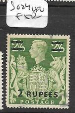 British P.O. In Eastern Arabia (P1002B) On Gb Kgvi 2R/2/6 Sg 24 Vfu