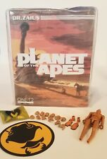 MEZCO ONE:12 MISB PLANET OF THE APES DR. ZAIUS & EXTRA BODY, HANDS, FEET LOT!