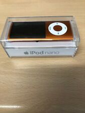 Apple iPod Nano 4th Generation Orange (8GB) With Charge Cable Bundle