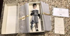 WALKING SUIT BARBIE Doll, Fashion Model SILKSTONE Gold Label, 2011, #W3424 NRFB!