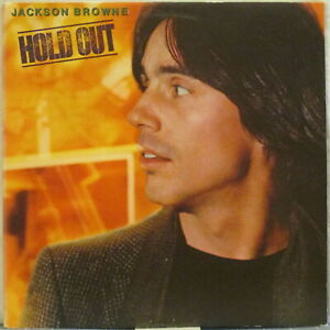 JACKSON BROWNE Hold Out LP – on Asylum Records (USA, 1980) Nice Record Club ed.