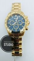 HUGO BOSS HB1513340 MENS WATCH IKON STEEL GOLD CHRONOGRAPH WITH WARRANTY