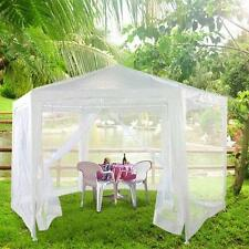 Peaktop 11x13 Heavy Duty Garden Canopy Party Tent Gazebo + 6 mosquito nets