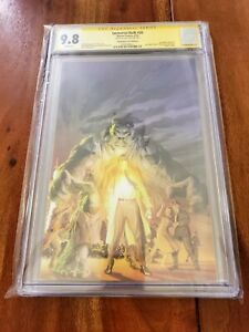 Immortal Hulk #20 CGC 9.8 2019 Signed by Alex Ross Virgin Cover.