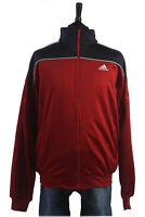 Adidas Vintage Shell Suit Tracksuit Top Jacket Red, Navy, White Chest 51''SW1365