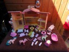 My Little Pony Slight Damage Lullabye Nursery Vintage Inc Accessories & 3 Ponies