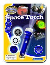 """* NAGELNEU * Brainstorming Lernen Spielzeug """"Space"""" Torch und Projektor kostenlos p&p UK"""