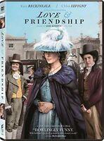 Love and Friendship DVD, 2016 Jane Austen Like New Kate Beckinsale Chloe Sevigny