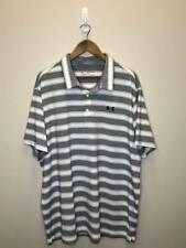 5/2 Mens Under Armour Heatgear Loose Fit Casual Golf Shirt Size 2Xl White Blk Gc