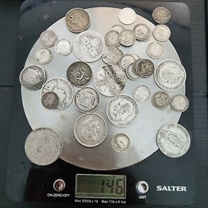 145 Grams British pre 1920 .925 sterling silver coins