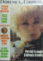DOMENICA DEL CORRIERE N.4 1972 ELKE SOMMER