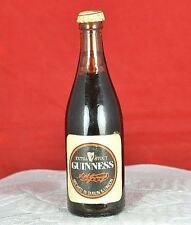 Vintage Guinness Miniature Glass Bottle NO ALCOHOL - Collectable