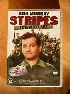 STRIPES DVD BILL MURRAY VERY GOOD PAL REGION 4 AUS