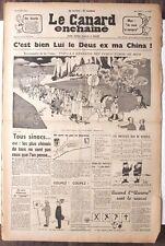 Le CANARD ENCHAINE numero 2257 du 22 janvier 1964
